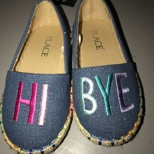 Children's Place Shoes - Children's Place 6Toddler Canvas Hi Bye